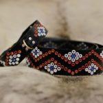 Hundhalsband och knivbälte från Suaja
